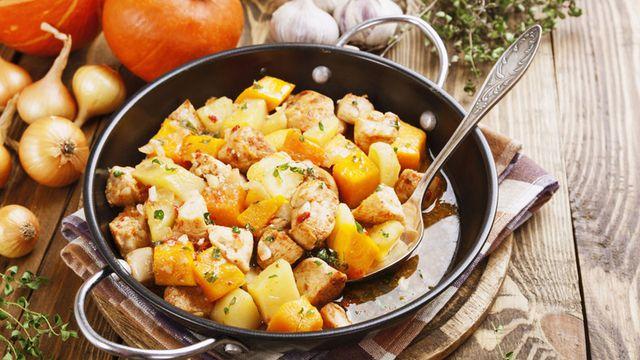 طريقة عمل ايدام بطاطس بالدجاج