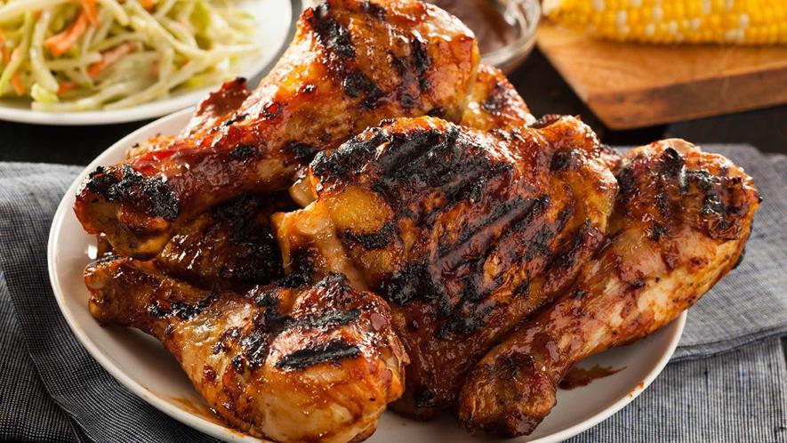 طريقة عمل الدجاج المشوي الهندي