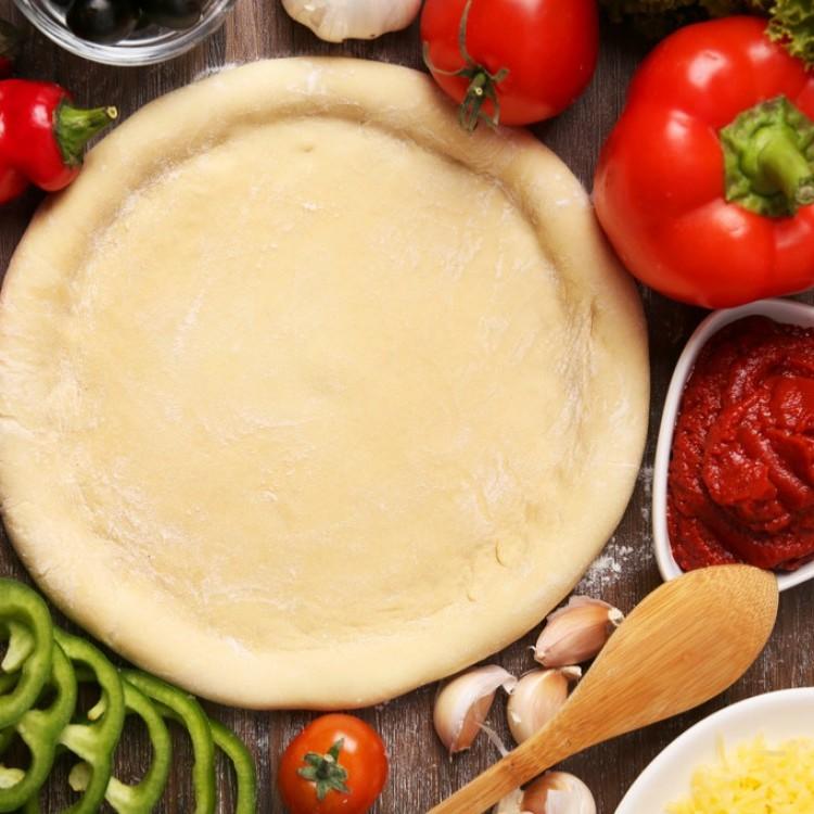 طريقة عمل عجينة البيتزا بالزبادي